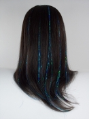 Dyelectric Blue Tinsel Tressies